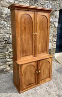Antique Victorian Pine Shelved Larder Cupboard (2 of 19)