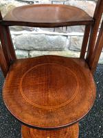 Antique Edwardian Inlaid Mahogany Stand (8 of 11)