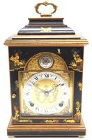 Good Caddy Top Mantel Clock – Chinoiserie Striking 8-day Mantle Clock by Elliot London (2 of 13)
