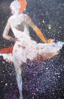 Watercolour Prima Donna Ballerina Signed (3 of 12)