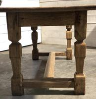 Rustic French Oak Farmhouse Dining Table (21 of 26)