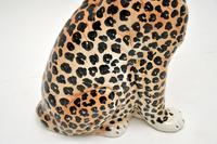 1970's Large Vintage Porcelain Leopard Sculpture (11 of 11)