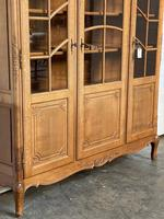 French 3 Door Oak Bookcase or Cabinet (11 of 15)