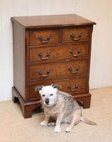 Small Proportioned Walnut Chest of Drawers (4 of 10)
