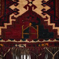 Antique Tekke Torba, Caucasian, Woven, Tent Bag, Decorative Wall Covering, 1900 (7 of 10)