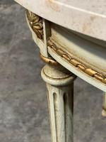 French Round Marble Top Coffee Table (12 of 15)