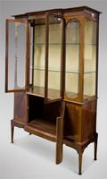 Edwardian Mahogany Display Cabinet (4 of 5)