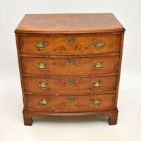 Antique Burr Walnut  Chest of  Drawers (2 of 12)