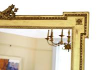 Large Gilt 19th Century Overmantle or Wall Mirror (4 of 7)