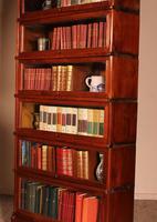 Fine Globe Wernicke Bookcase in Mahogany of 6 Elements - 19th Century (4 of 8)