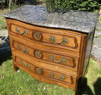 Small 18th Century Serpentine Fronted Commode (6 of 17)