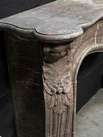 Important French Louis XV Marble Fireplace (11 of 13)