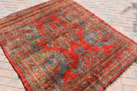 Antique Ushak rug 199x161cm (5 of 6)
