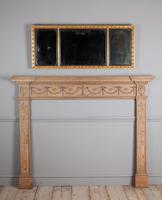 Regency Gilt Overmantle Mirror (2 of 4)