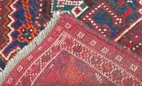 Samll Antique Kashgai Carpet (4 of 4)