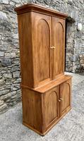 Antique Victorian Pine Shelved Larder Cupboard (6 of 19)