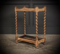 Bleached Raw Oak Umbrella / Stick Stand (7 of 8)