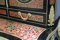 French 19th Century Louis XV Style Boulle Writing Cabinet (5 of 11)