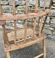Antique Primitive Westcountry Stick Back Windsor Chair (17 of 18)