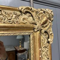 Very Large French Paint & Gilt Mirror (7 of 9)