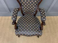 Pair of 19th Century French Rosewood Armchairs (8 of 16)