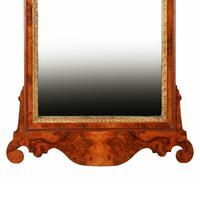 Georgian Style Burr Walnut Mirror (4 of 8)