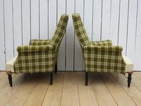 Pair of Napoleon III French Armchairs for re-upholstery (7 of 9)