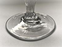 Delightful Petal Moulded 18th Century Rummer (3 of 5)