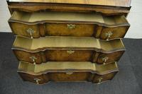 Antique Queen Anne Design Walnut Bureau (5 of 9)