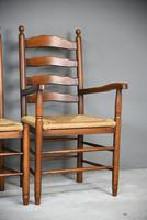 6 Ladderback Dining Chairs (4 of 11)