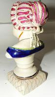 Edwardian Porcelain Bust Young Lady (5 of 6)
