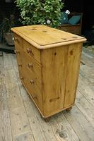 Lovely Old Victorian Pine Chest of Drawers - We Deliver! (4 of 7)