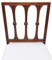 Set of 8 Georgian Mahogany Dining Chairs 19th Century C1820 (5 of 7)