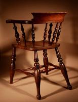 Captains / Smokers Bow-back Armchair (5 of 14)