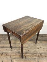Small Victorian Welsh Oak Pembroke Table (10 of 18)