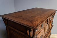 20th Century Oak Moulded Chest (7 of 7)