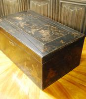 Regency Chinoiserie Japanned Box (2 of 7)