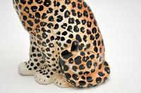 1970's Large Vintage Porcelain Leopard Sculpture (9 of 11)