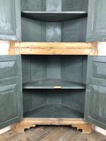 Antique Pine Free Standing Corner Cupboard (10 of 10)