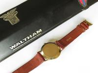 Gents 9ct Gold Waltham Wrist Watch, Boxed (5 of 5)