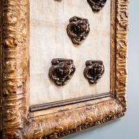 5 Carved Heads in Gilt Frame (6 of 10)