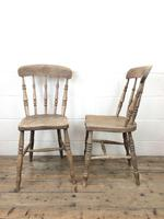 Set of Four Antique Kitchen Chairs (10 of 11)