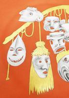Rare Arrigo Finzi Art Pottery Surrealist Modernist Charger Salvador Dali 1940+ (4 of 7)