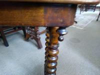 Burr Walnut Side Table (5 of 5)