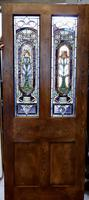 Victorian Art Nouveau Stained Glass Panel Door (4 of 9)