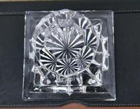 Heavy Art Deco Cut Crystal Paper Weight, Numbered Limited Edition (4 of 6)