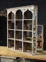 French Scraped Paint Wall Shelves or Display Box (13 of 17)