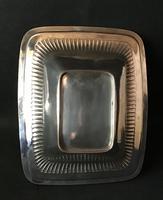 Georgian Silver Plate Swing Handle Cake / Bread Basket (3 of 4)