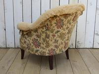 French Tub Armchair for re-upholstery (3 of 8)