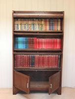 Oak Stacking Bookcase c 1920 (5 of 10)